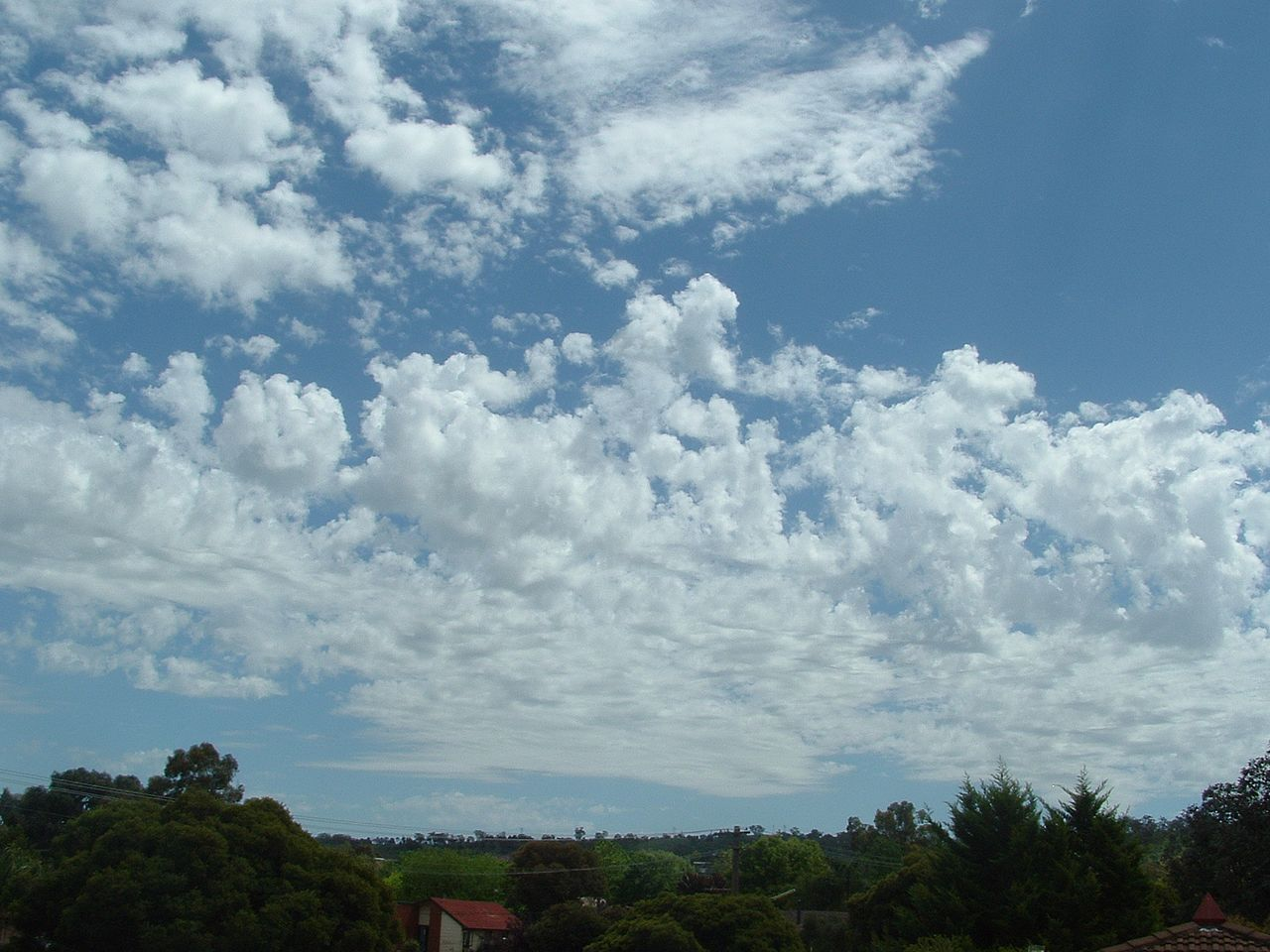 photo: Bidgee;desc: Altocumulus castellanus cloud type.;link: https://commons.wikimedia.org/wiki/File:Altocumulus-Castellanus.jpg;licence: cc;