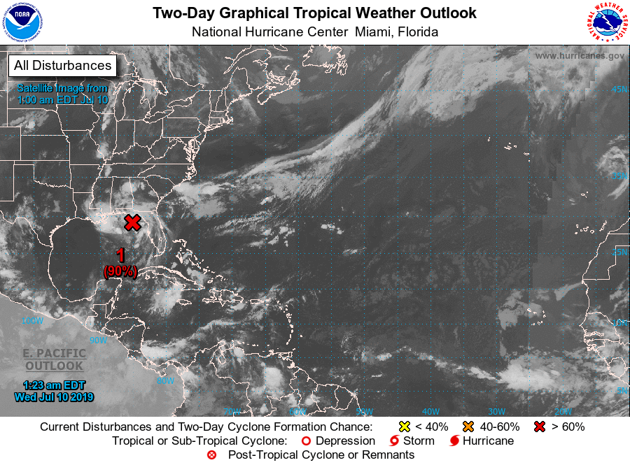 photo:NWS/NOAA;description:2-Day Graphical Tropical Weather Outlook