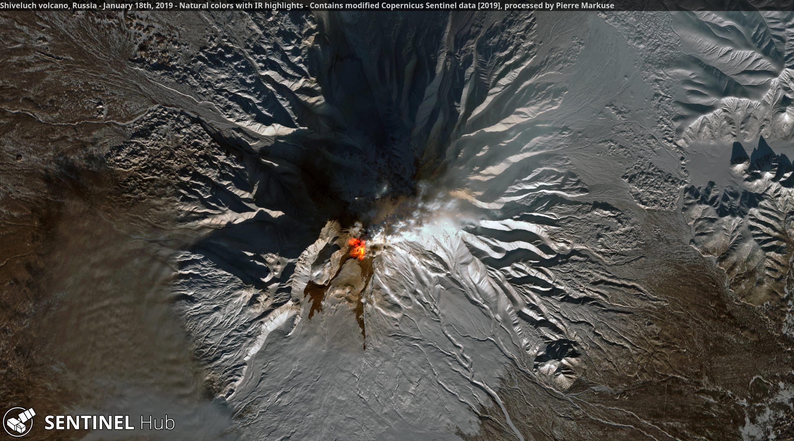 desc:Shiveluch Volcano;photo:Copernicus/Pierre Markuse