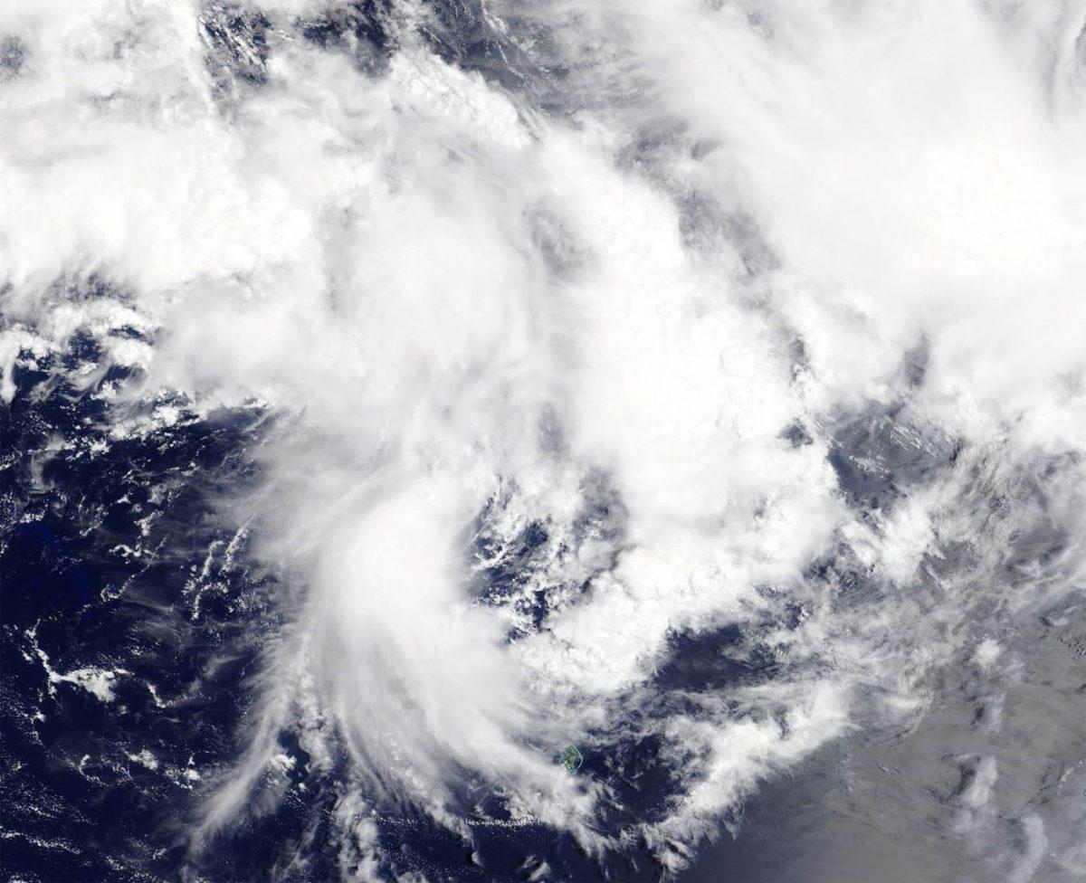 photo:NASA Worldview;desc:Terra image of 18P