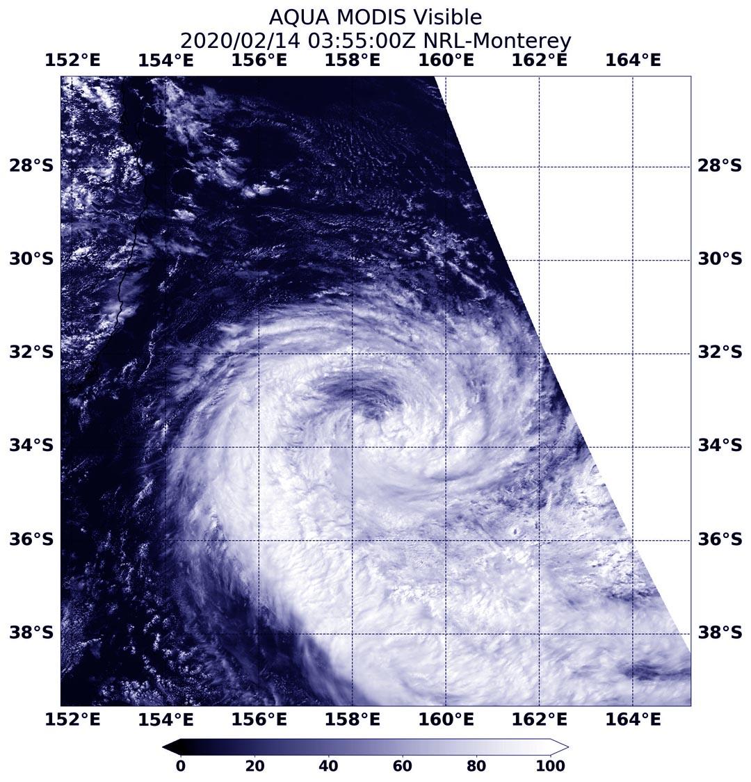 photo:NASA/NRL;desc:Aqua image of Francisco