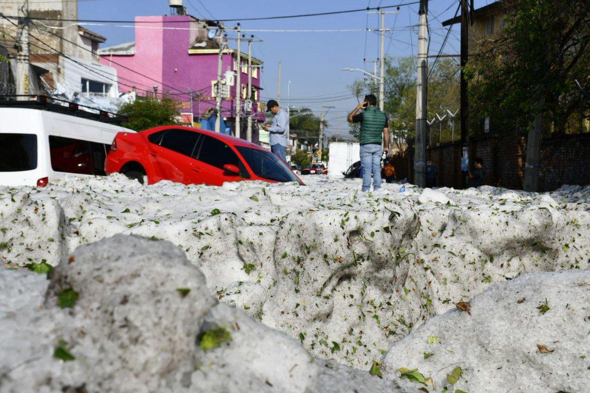 Guadalajara hailstorm