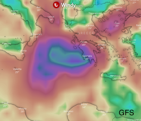photo: Windy.com; desc: GFS, Wind accumulation; licence: cc
