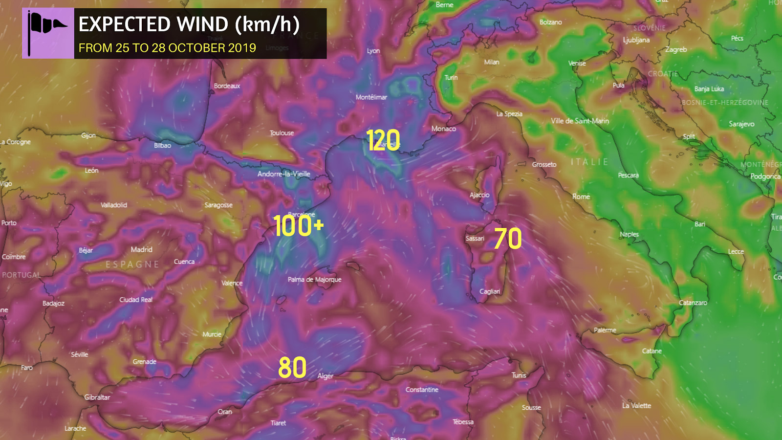 photo:Windy.com;desc: Expected wind in km/h;