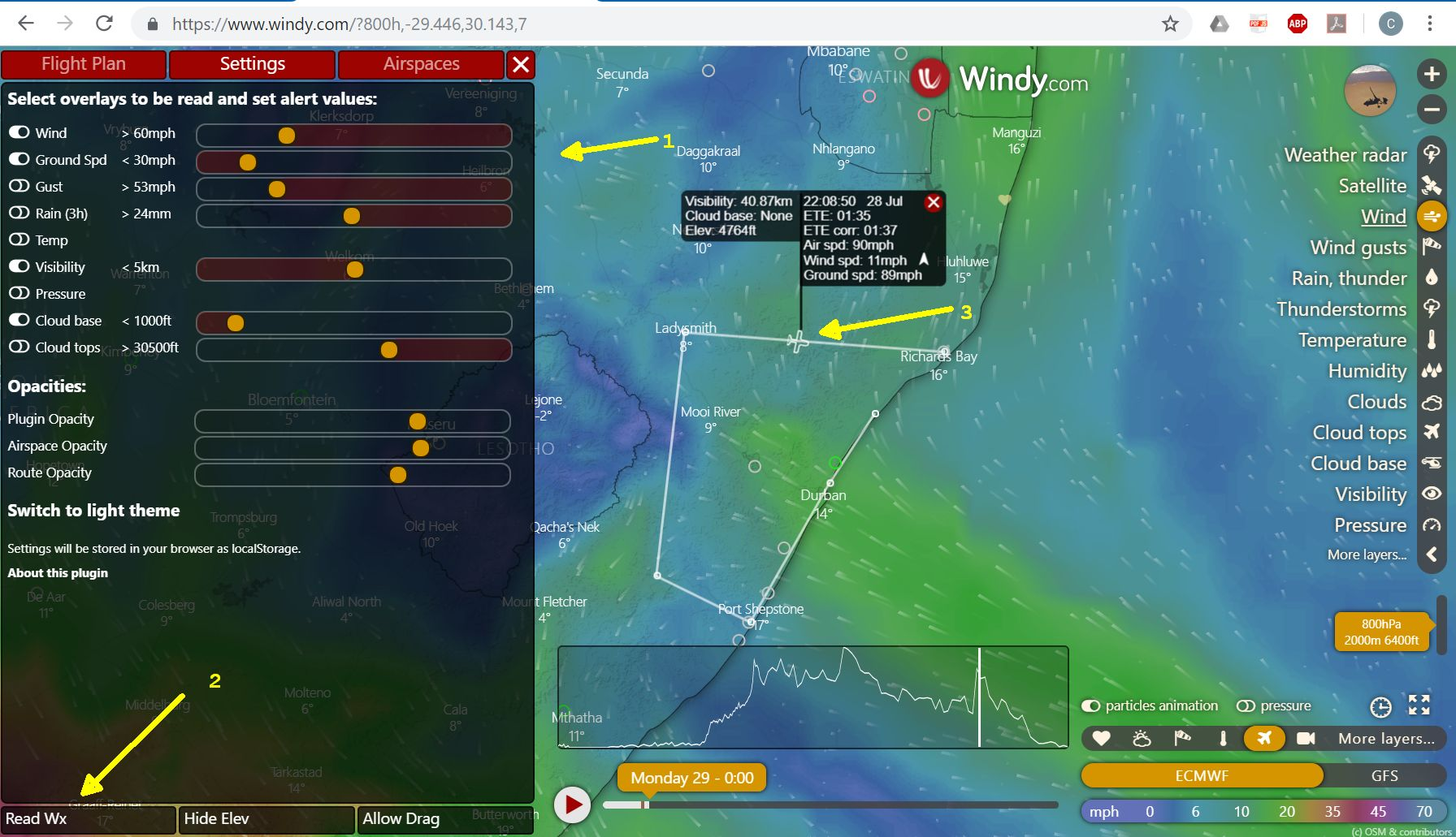 Flight Planner screenshot