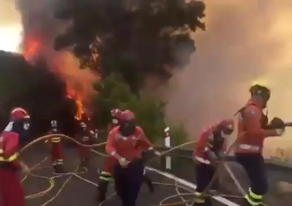 Gran Canaria Wildfires
