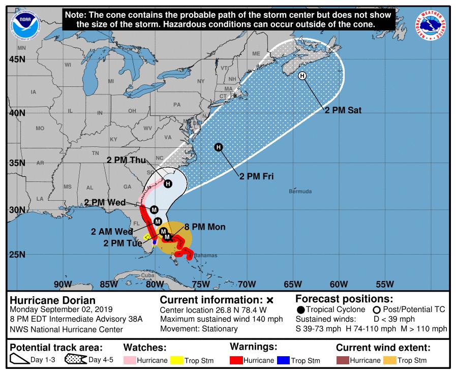 photo:NOAA/NHC;desc:Intermediate Advisory Number 38A;