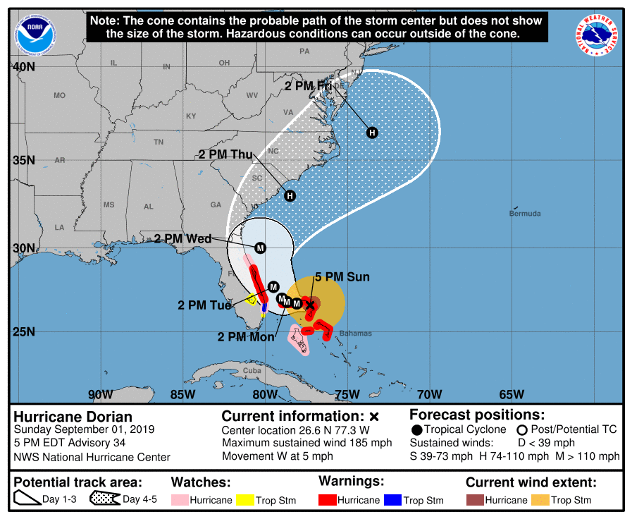photo:NWS National Hurricane Center Miami FL;desc:Advisory 34;
