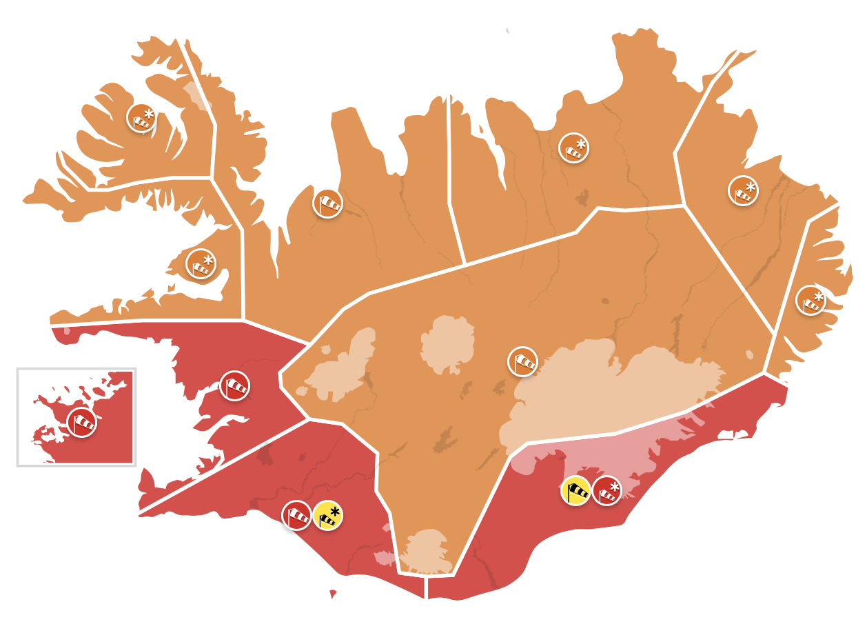 photo:Icelandic Met Office;desc:Warnings map