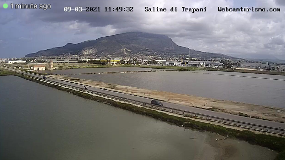 Photo by: windy webcam; desc: Le saline di Trapani: licence: cc