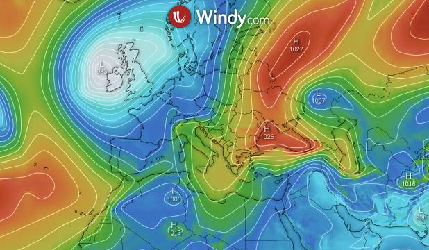 Photo by: windy.com; desc: situazione europea; licence: cc