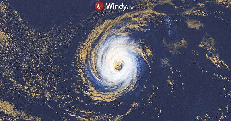 Photo by: windy.com; desc: Hurricane Linda 17aug21; licence: cc
