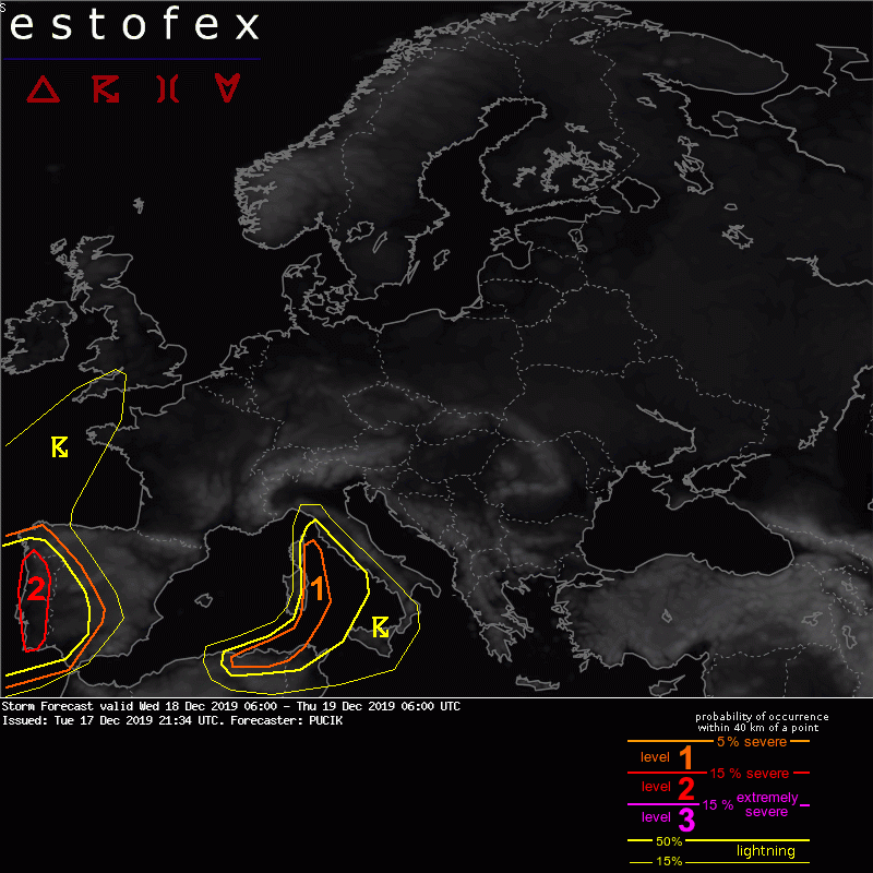 photo:ESTOFEX;desc:Storm forecast; licence:cc;