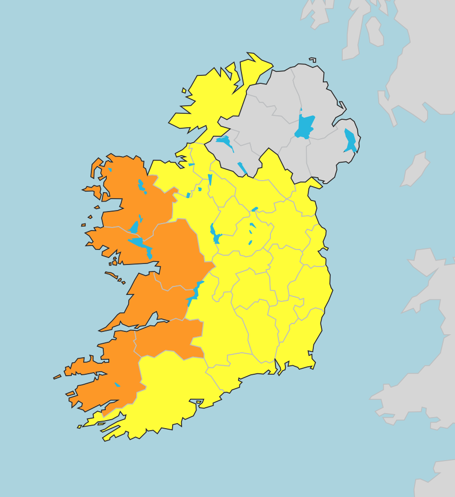 photo:Met Éireann;desc:Warning map
