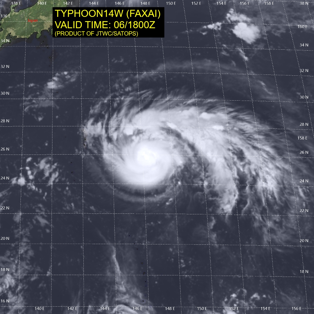 photo:JTWC/SATOPS;desc:Typhoon Faxai (14W) - 6 Sept 2019 at 1800Z;