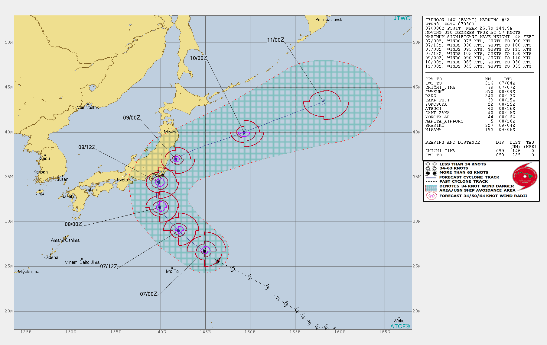 photo:JTWC;desc:Typhoon Faxai Warning 22;
