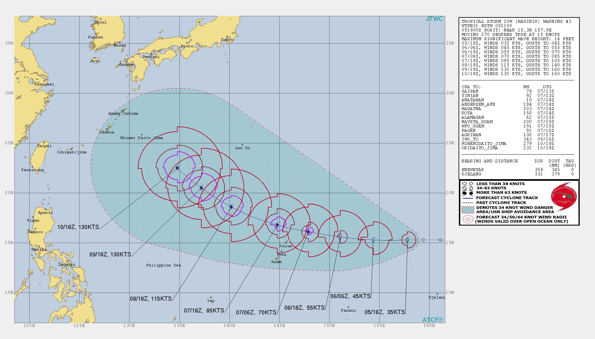 photo:JTWC;desc:Tropical Storm Hagibis Warning 3