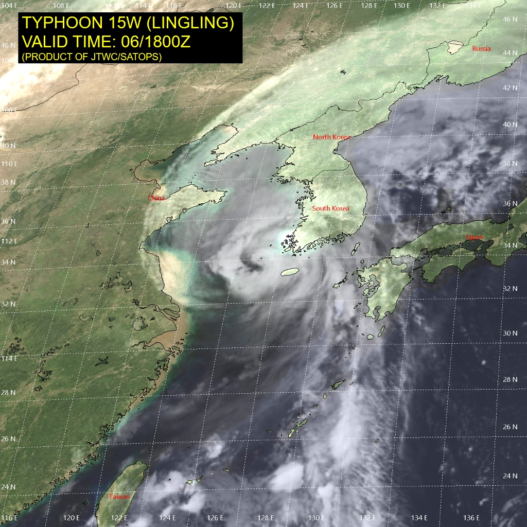 photo:JTWC/SATOPS;desc:Typhoon Lingling (15W) - 6 Sept 2019 at 1800Z;