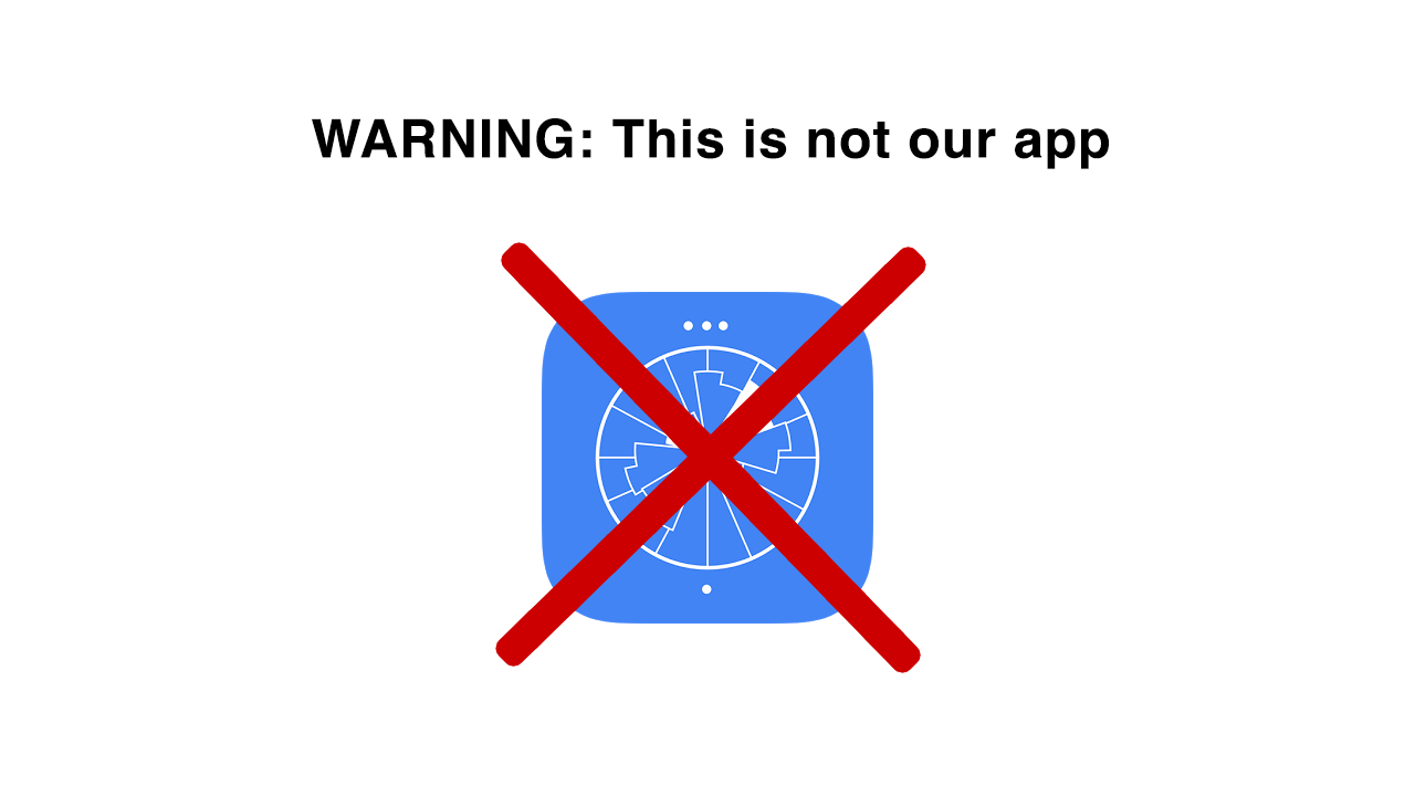 desc:warning this is not our app;